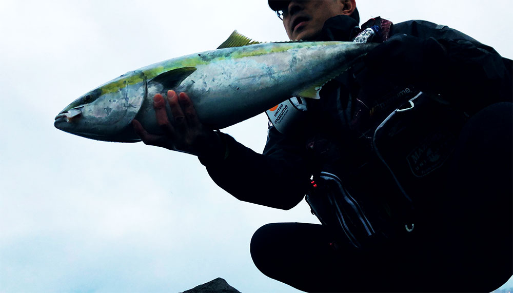 釣り開始。